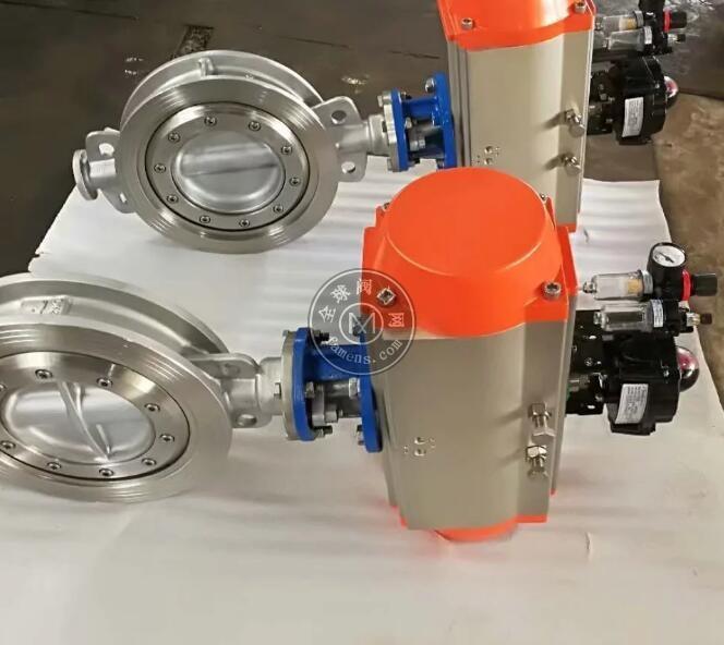 D673W气动蝶阀,上海誉鹤,化工、水处理