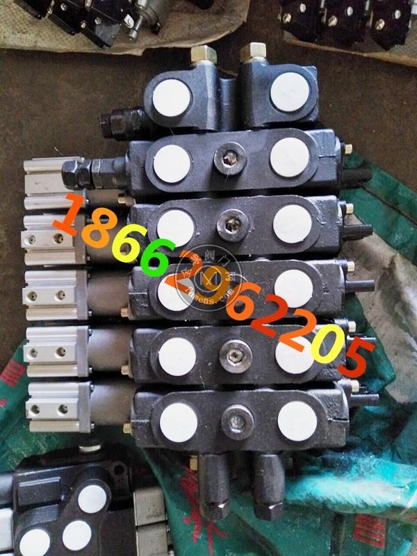 壓縮垃圾環衛車五路氣控分配器多路換向閥SQDL-E15-OT-50廈工楚勝