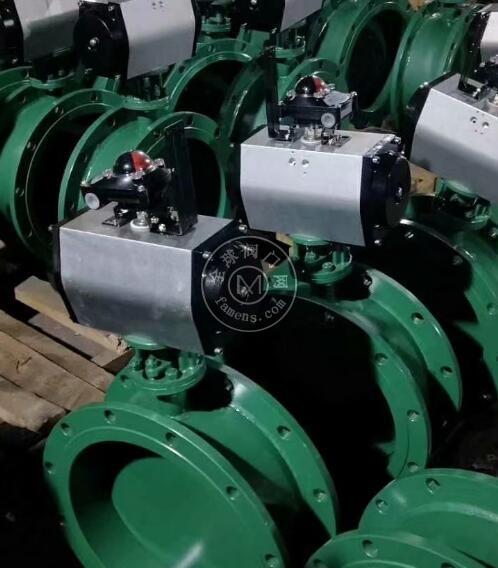 TD641W气动蝶阀,电站,化工,高温气体,通风调节蝶阀