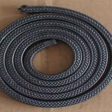 碳纤维盘根浸渍带有石墨颗粒的润滑剂