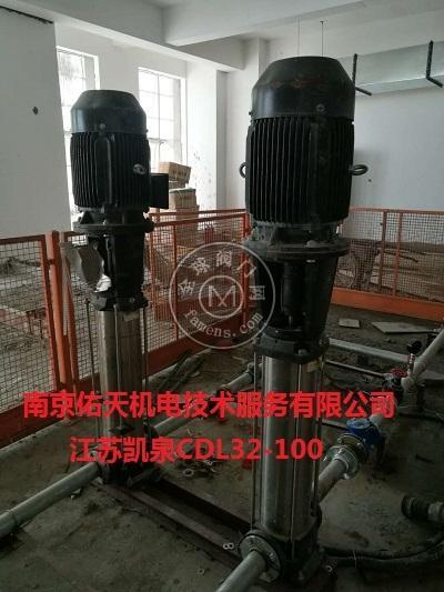 江苏凯泉水泵配套皖南电机及天正变频柜维修
