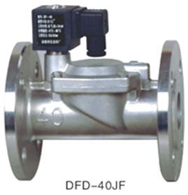 DFD-J系列液、气不锈钢电磁阀