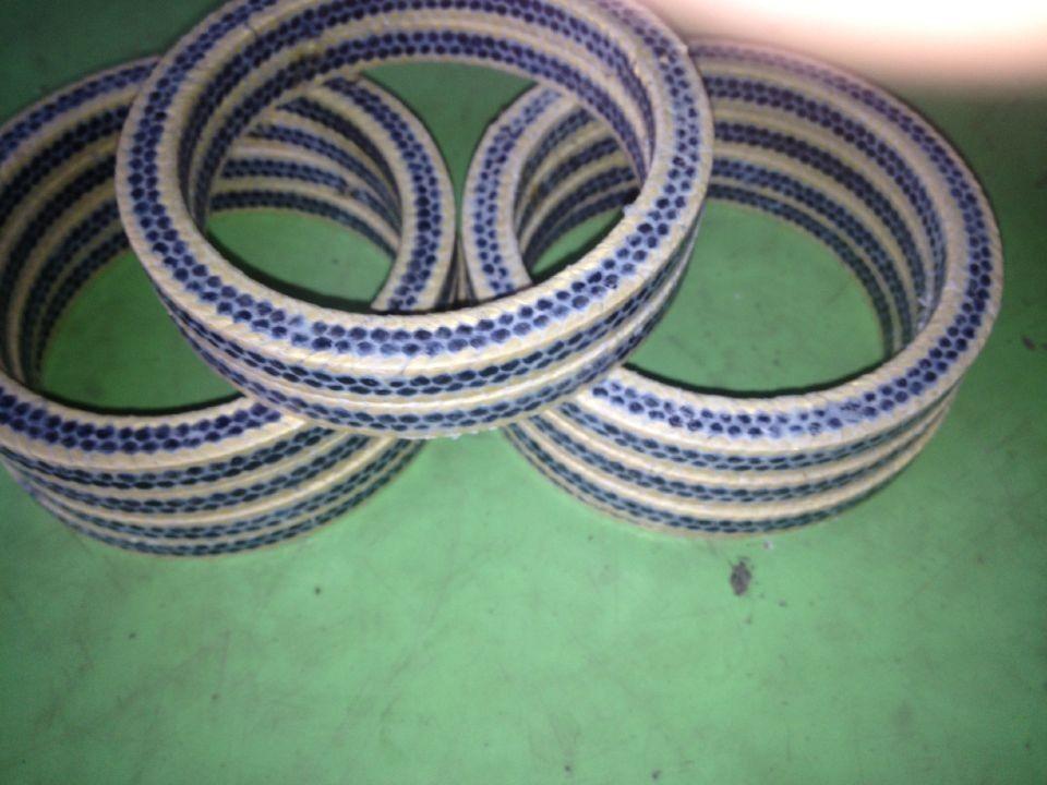 耐磨 芳纶碳纤维混编盘根 柱塞泵专用芳纶碳纤维混编盘根