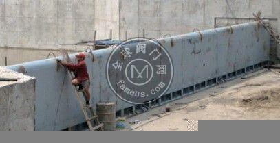 杭州底轴驱动翻板闸门性能特点
