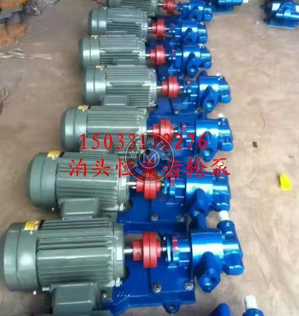 直流油泵 直流齿轮油泵 CHY直流电机齿轮油泵