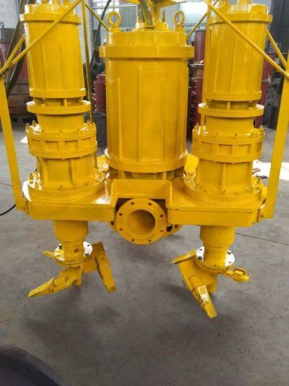 特殊的鉸刀沙漿泵    潛水耐磨泥漿泵