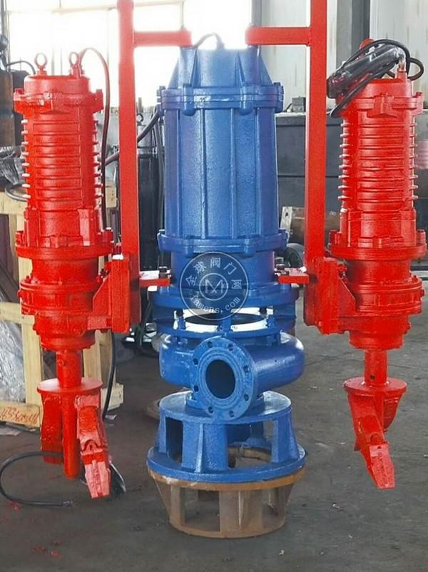 耐磨立式搅稀泵     潜水搅拌渣浆泵