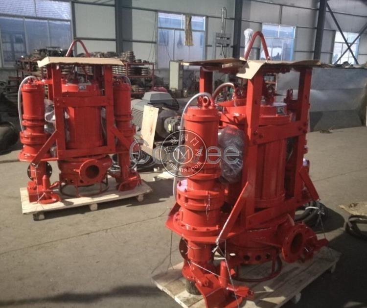 300HZ铰刀清淤泵   铰刀搅拌沙浆泵