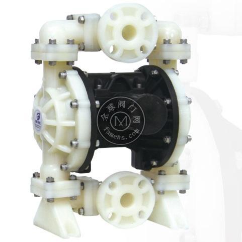 MK25(1寸)氟塑料气动隔膜泵耐强酸强碱