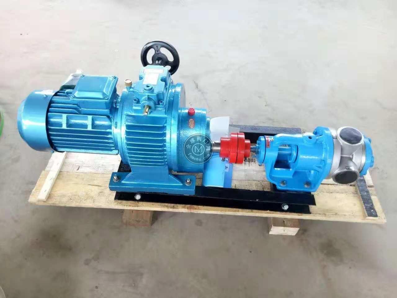 高粘度齿轮泵 内啮合齿轮泵 高粘度不锈钢齿轮泵