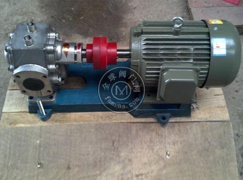 保温齿轮泵 保温沥青泵 不锈钢保温齿轮泵