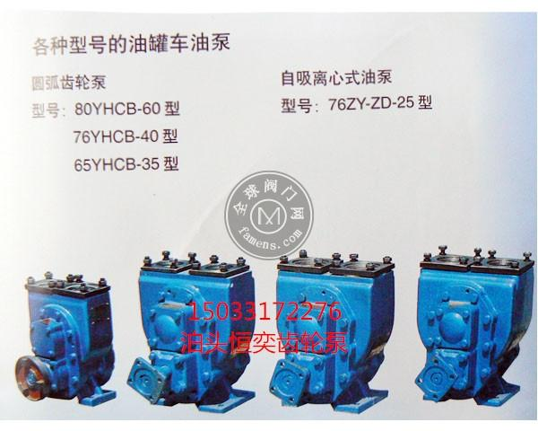 防爆油泵 防爆齿轮油泵 YHCB防爆尼龙齿轮泵