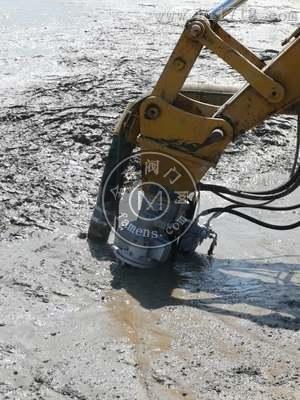 強動力馬達液壓泥漿泵 _  水底絞吸挖掘機耐磨沙漿泵