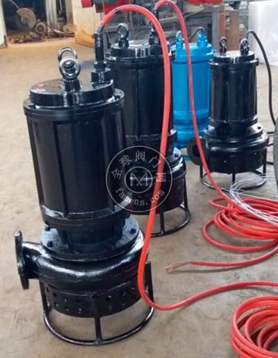 耐磨合金抽砂泵_潛水型渣漿泵