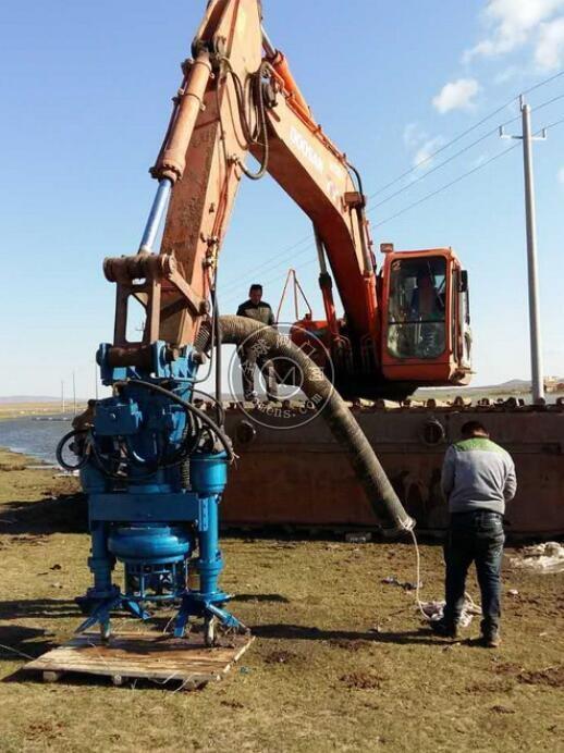 200挖机用液压排渣泵 液压灰浆泵