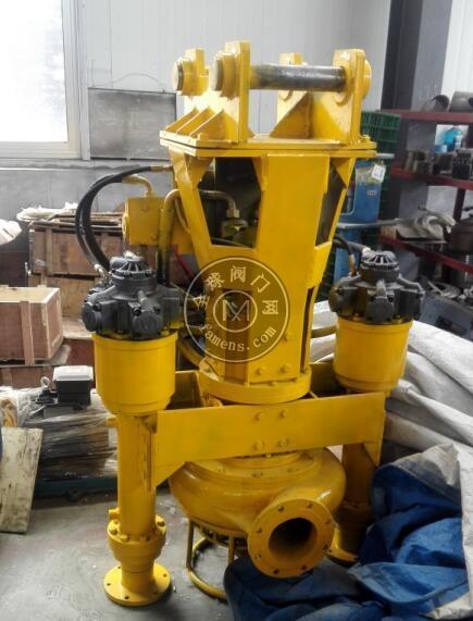 蓝翔挖机配套清淤泵|河道清淤泵|深海抽沙泵