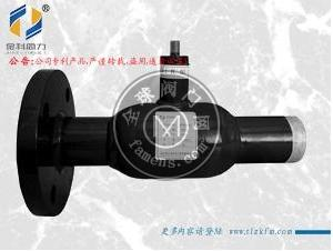 單法蘭式全焊接球閥可以單項焊接2018
