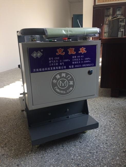 氮气增压泵 电动气体增压机 蓄能器充氮车