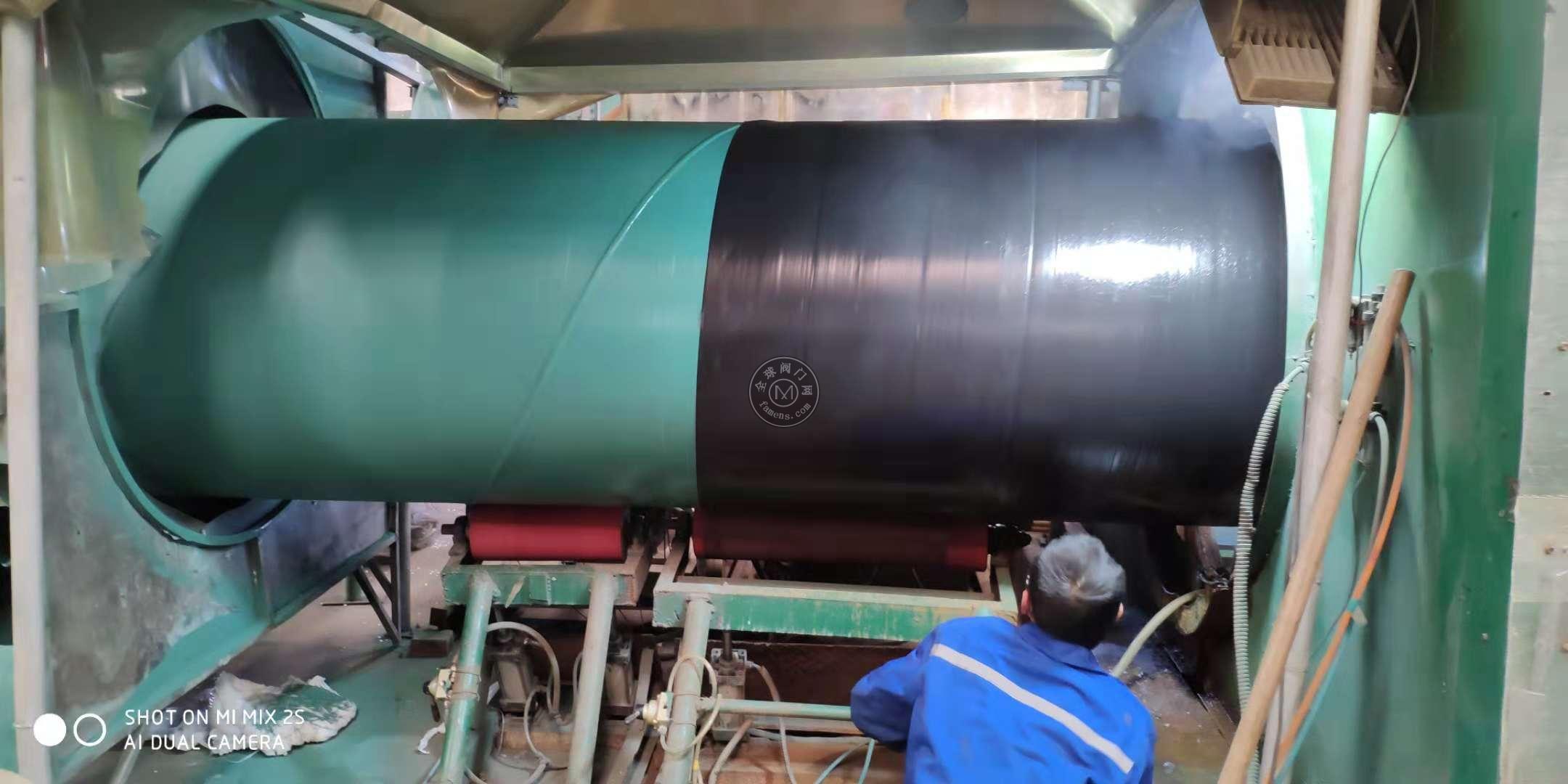 碳钢螺旋管3pe防腐饮水管道