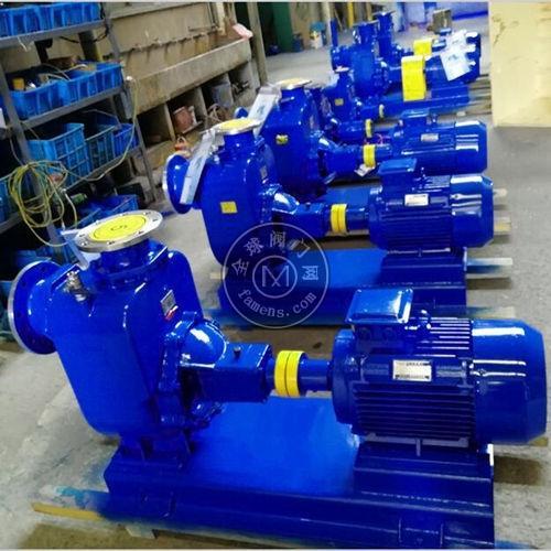 ZW系列自吸式无堵塞排污泵