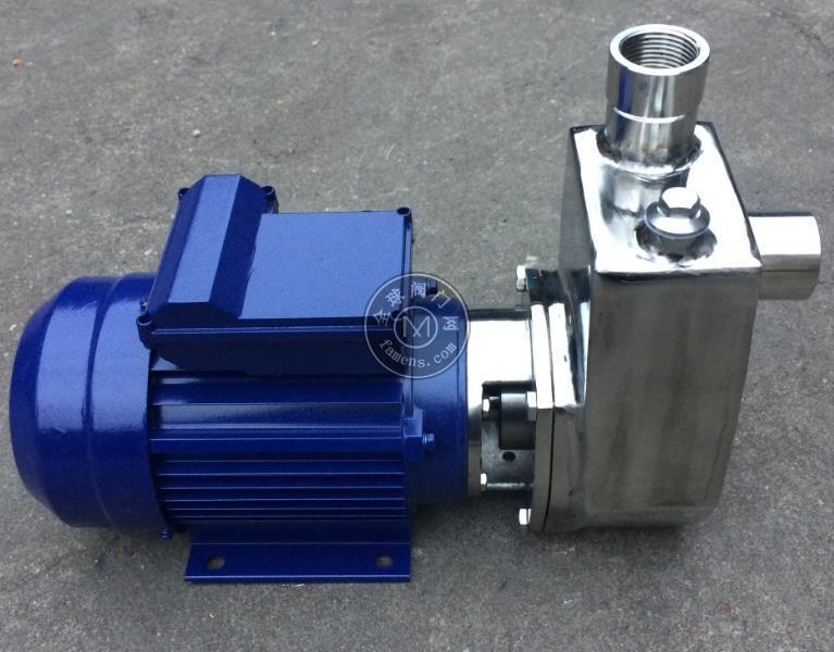 40SFBZ-18酒泵 不锈钢化工泵 耐腐蚀自吸泵