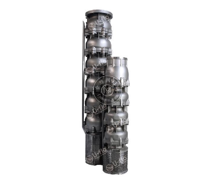 VP系列 鑄造全不銹鋼潛水泵、海水提升泵