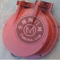 鑫川水工DN800玻璃钢拍门