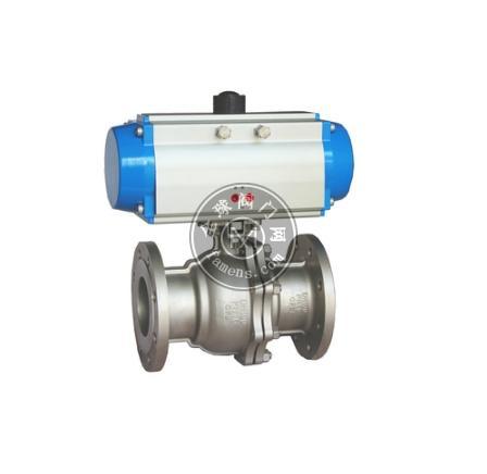 DN15-DN500氣動法蘭球閥Q641F-16C