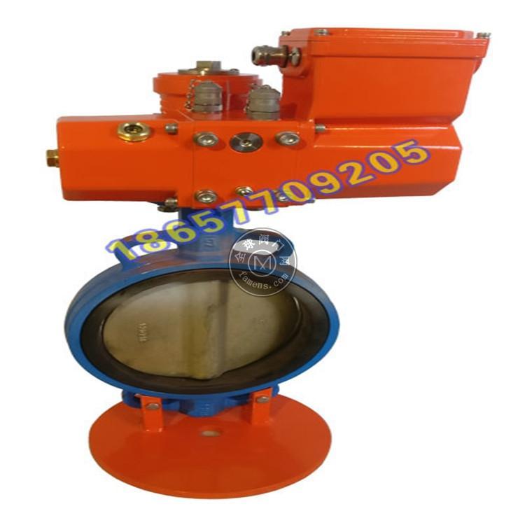 厂家生产BRM型船用螺旋式电液动蝶阀,电液动执行机构
