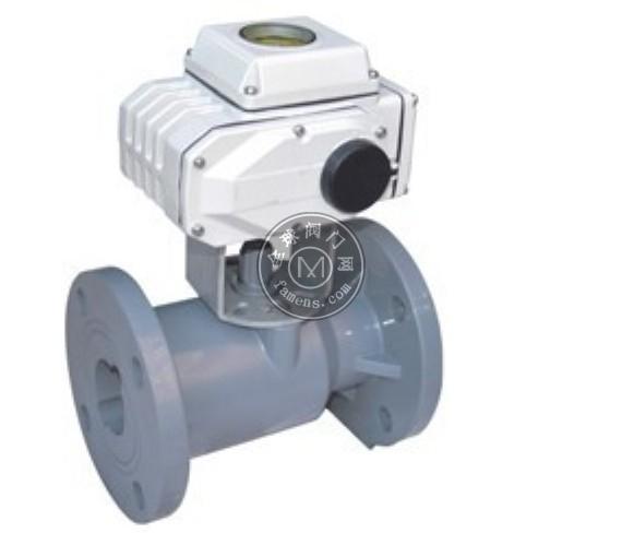 电动塑料法兰球阀 Q941F-10S