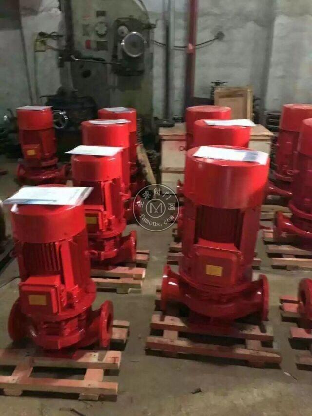 CCCF认证消火栓泵/恒压切线泵/室内安装商城消防泵