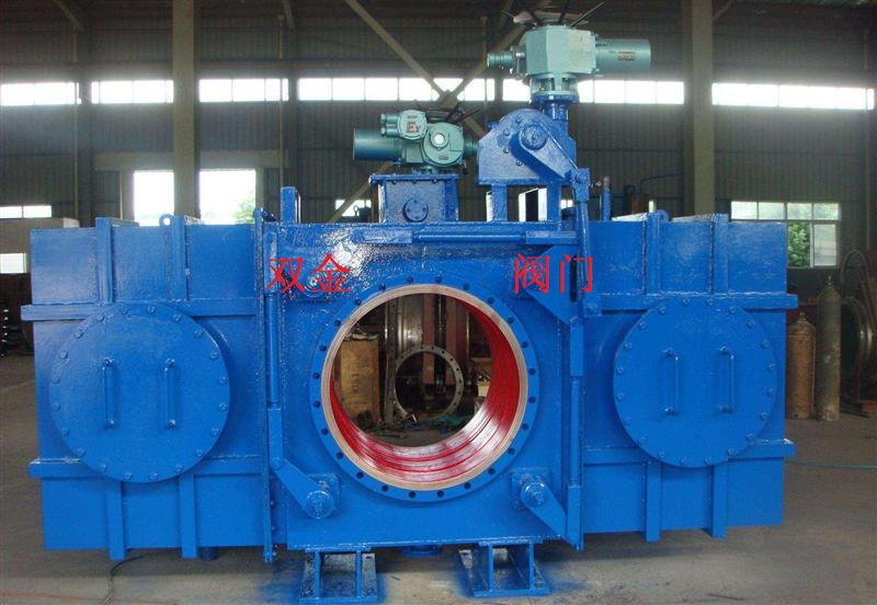 FF941H/X封闭式插板阀、温州双金阀门供应