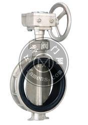 FS028不锈钢软密封对⌒夹防结露蝶阀台湾富山F.S蝶阀工厂 直销