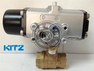 KITZ C-TE气动青铜球阀日本KITZ气动阀开兹阀门现货直销
