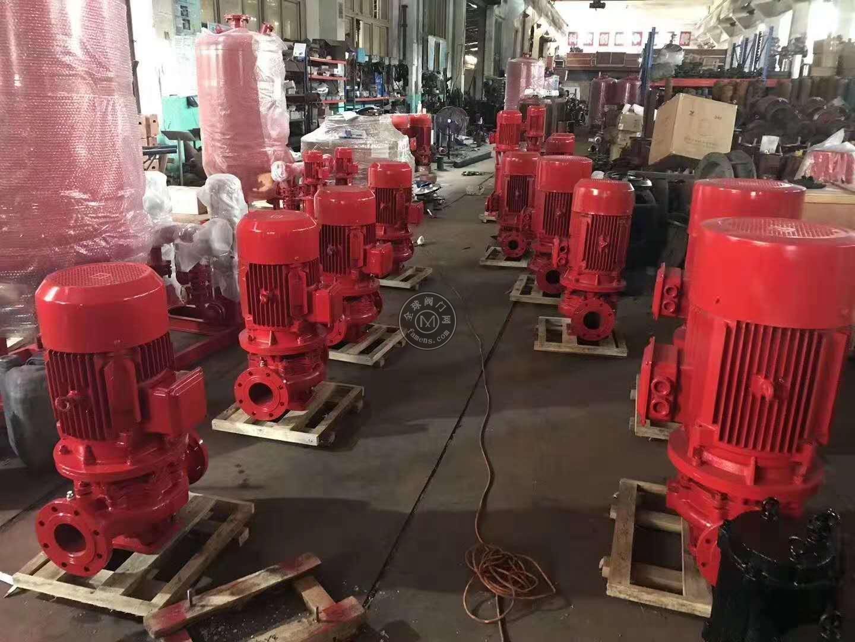 立式消防泵型号齐全BD6.8/20-80L/供应规范稳压泵/智能巡检柜