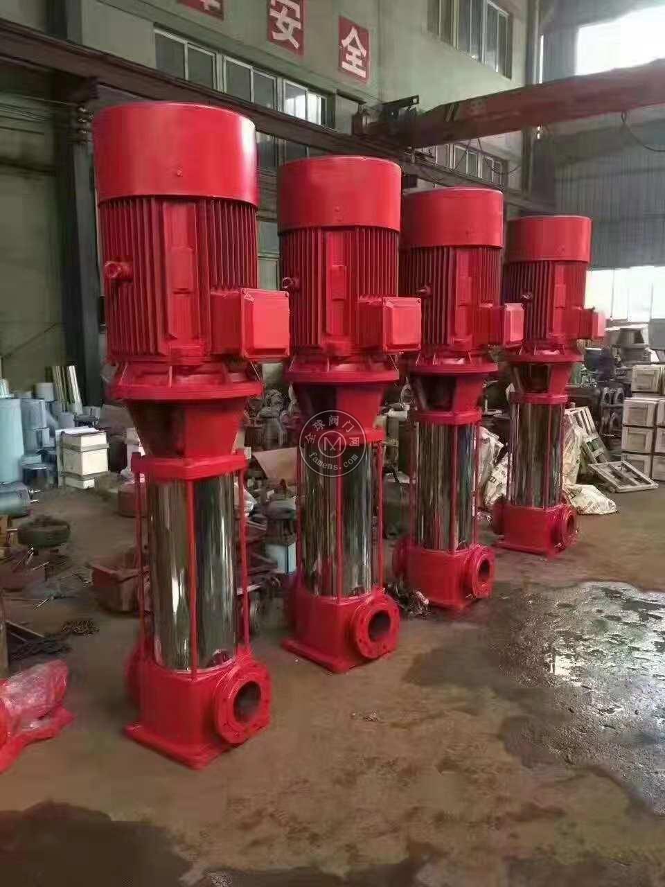 臥式消防穩壓泵XBD5.6/20-80L多級消火栓泵/室外安裝噴淋泵