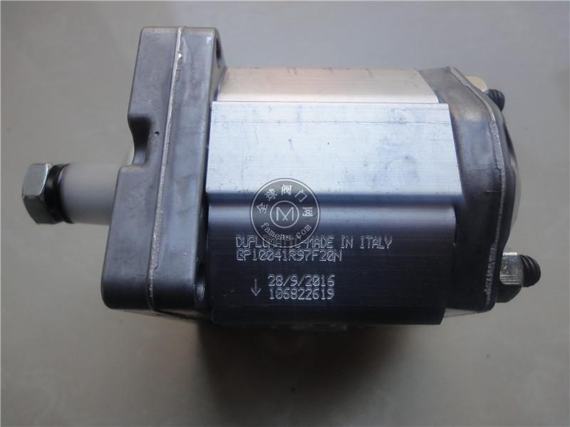 迪普马DUPLOMATIC齿轮泵IGP3-003-R
