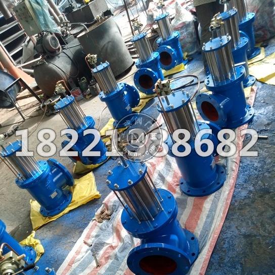 液动气动排泥阀DN200厂家直销