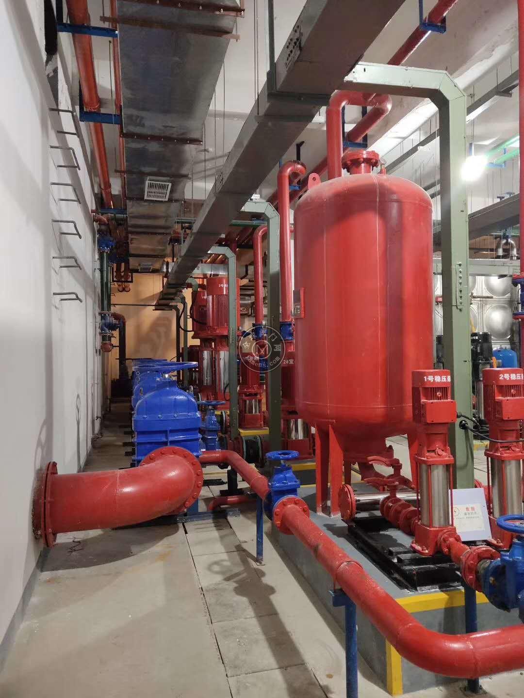 人防工程安装力量消防泵XBD7.2/15-80L消防稳那些前九�压泵现货/带3CF认证喷淋泵