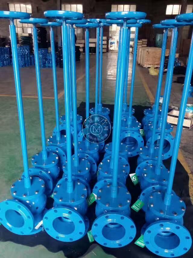 加長桿排泥閥哪家做?河北歐特萊專業制造SD44X1手動排泥閥的廠家