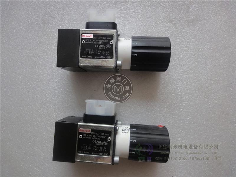 HED8OP-20/200K14AS REXROTH压力开关