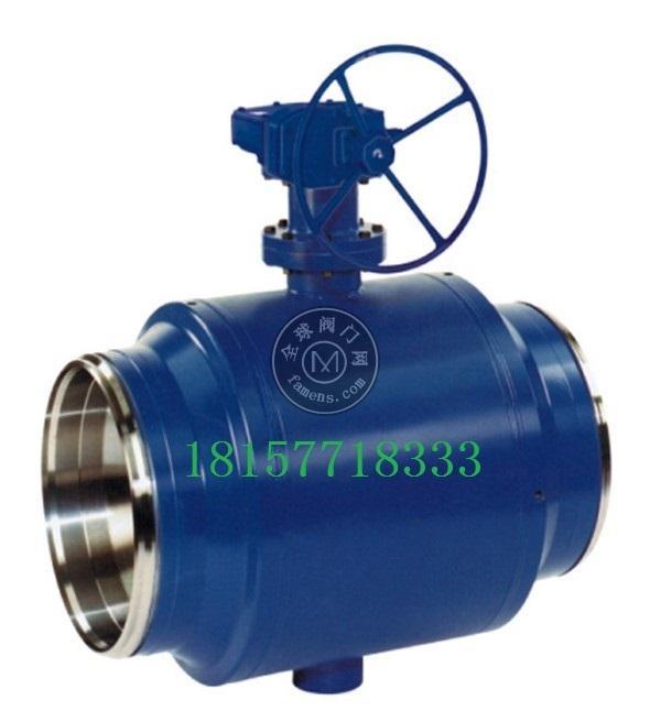 厂家直销热力管线球阀MFQ367-16C多种全焊接阀门系列批发定制