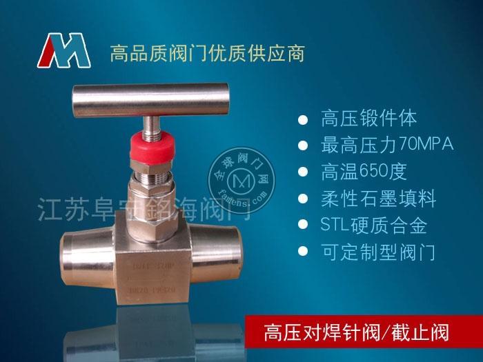 不銹鋼焊接高壓針型閥