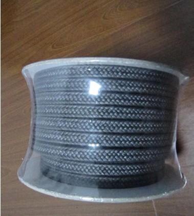 石墨聚四氟乙烯盘根,高压耐磨黑四氟盘根