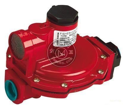 費希爾R622H-DGJ紅色一級減壓閥