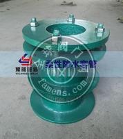 武漢豫隆02S404柔性防水套管內部橡膠圈具有的密封作用