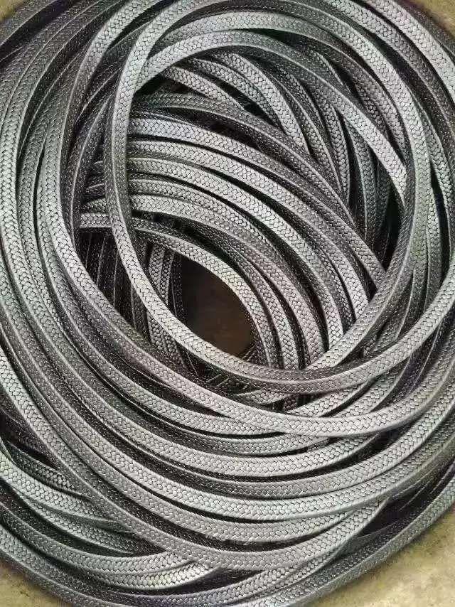 高强度膨胀聚四氟乙烯石墨盘根生产规格型号