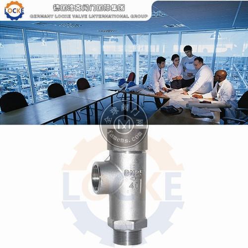 进口LNG液化天然气安全阀-196℃~+80℃(德国LOCKE)