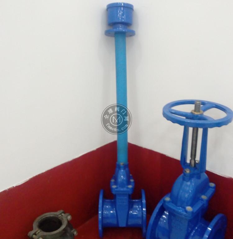 WUV型给水地埋(伸缩杆)弹性座封闸阀