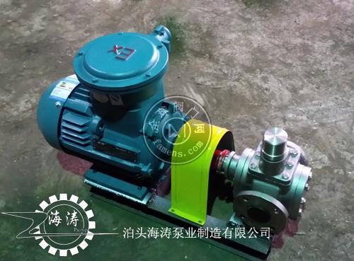 YCB不锈钢∞圆弧齿轮泵